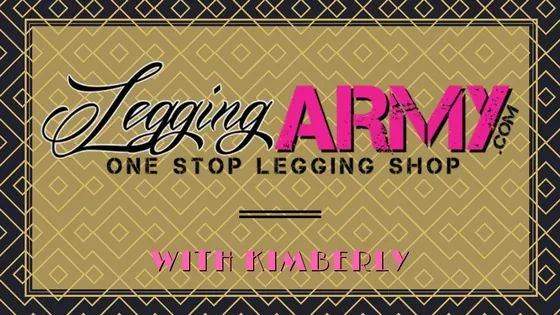 legging army with kimberly logo
