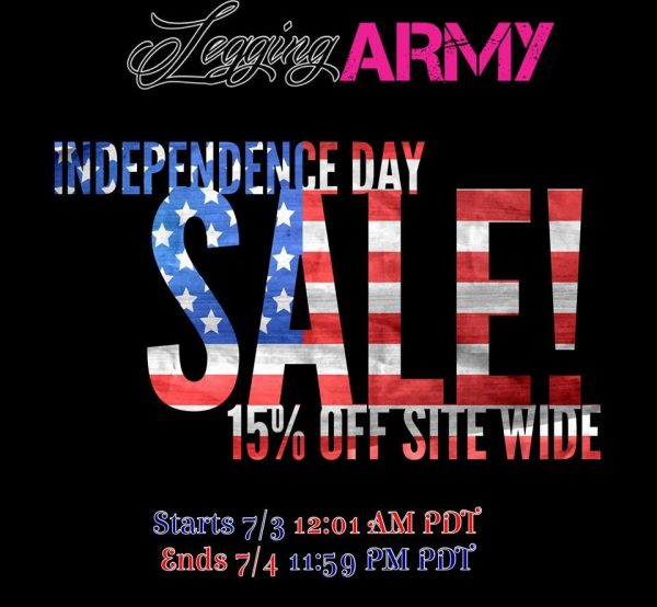 4th of July Legging Army Sale image